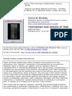 Witteborn, Saskia_testimonio and Spaces of Risk_2012