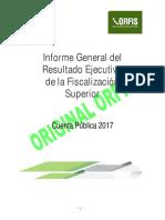 001 Informe General Ejecutivo de La Fiscalización Superior Cuenta Pública 2017