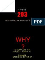 Spp 203 Specializedarchlservices