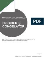 Manual frigider side-by-side LG