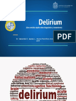 Delirium (Una Revisión Rápida Sobre Diagnóstico y Tratamiento)