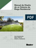 Manual de diseño de un sistema de riego residencial