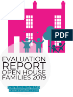 Open House Families Evaluation Report 2019