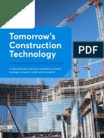 000 Tomorrows Construction Tech