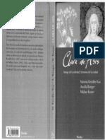 Libro- Clara de Asís