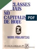 Nicos Poulantzas as Classes Sociais No Capitalismo de Hoje