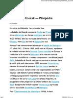 Bataille de Koursk