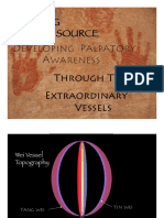 Developing Palpatory Awareness Through The Extraordinary Vessels