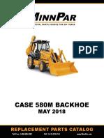 Partbook case 580sm