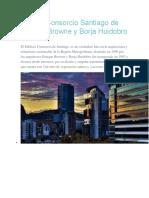 Edificio Consorcio Santiago de Enrique Browne y Borja Huidobro