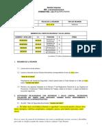 Modelo de Informes Mensuales Al Inpsasel