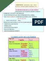 Clase Oxidos e Hidroxidos