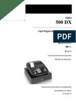 Tasa impositiva ( Caja Registradora )