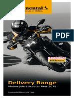 Delivery Range 2018 Data