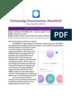 technology presentation  mindshift