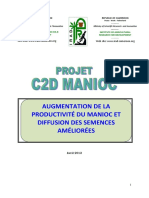Production manioc
