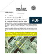 Report on State Street Library Crossing