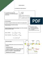 Cinética Química - Manual
