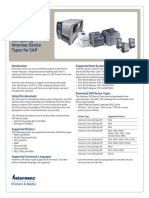 SAP Printing TechBrief