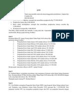 Quiz pajak Universitas Widyatama