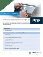 Tuv Rheinland Gs Mark Checklist En