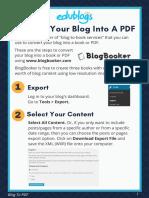 PDF convertion