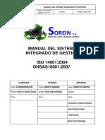 Msg-001 Manual Del Sistema Integrado de Gestión