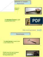 Carpentry Joinery Tools