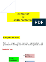 Introduction to Bridge Foundation