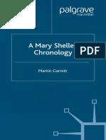 Mary Shelley Chronology