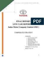 Final Report- Toyota