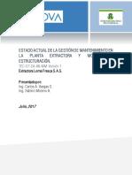 Estado Actual y Modelo de Estructuración Del Mantenimiento ELF