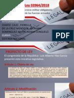 Proyecto de Ley N°3964- DEFENSA NACIONAL