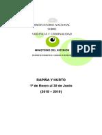 Informe Criminalidad MI