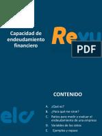 ENDEUDAMIENTO FINANCIERO por REVUELO
