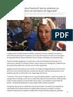 05-08-2019 Condena Gobernadora Pavlovich hechos violentos en Hermosillo se reunirá con secretario de Seguridad - Proyecto puente