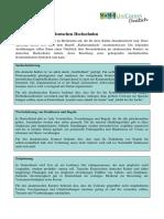 Kulturstandards an Deutschen Hochschulen