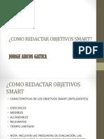 Como Redactar Objetivos Smart 2 1