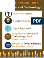 2019 Science & Technology and General Science Questions