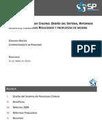 Sistemas de Pensiones Chileno