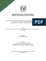 Descifrando Las Estrategias Institucionales Para El Cierre Del Proceso de Justicia y Paz