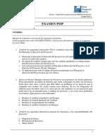 Examen PMP