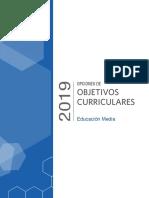 Obj Curriculares Educacion Media