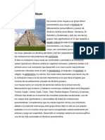 Definición de Los Mayas