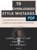 10 Most Overlooked Style Mistakes