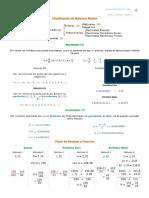 Clasificación de Números Reales Reales R Racionales Q Enteros Z