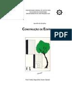 Apostila Construção de Edifícios 2019 1 Prof. Pedro k x Bastos Ufjf