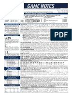 08.07.19 Game Notes