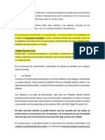 La Tacha de Documentos Debe Estar Referida a Los Defectos Formales de Los Instrumentos Presentados