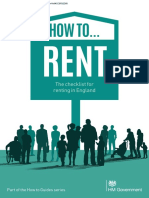 How to rent in UK
